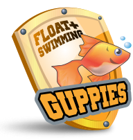 Float Plus Guppies 1 | Learning to Swim