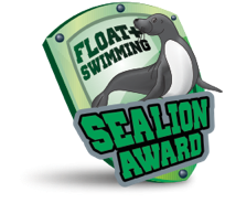 Float Plus Sealions | Learning to Swim